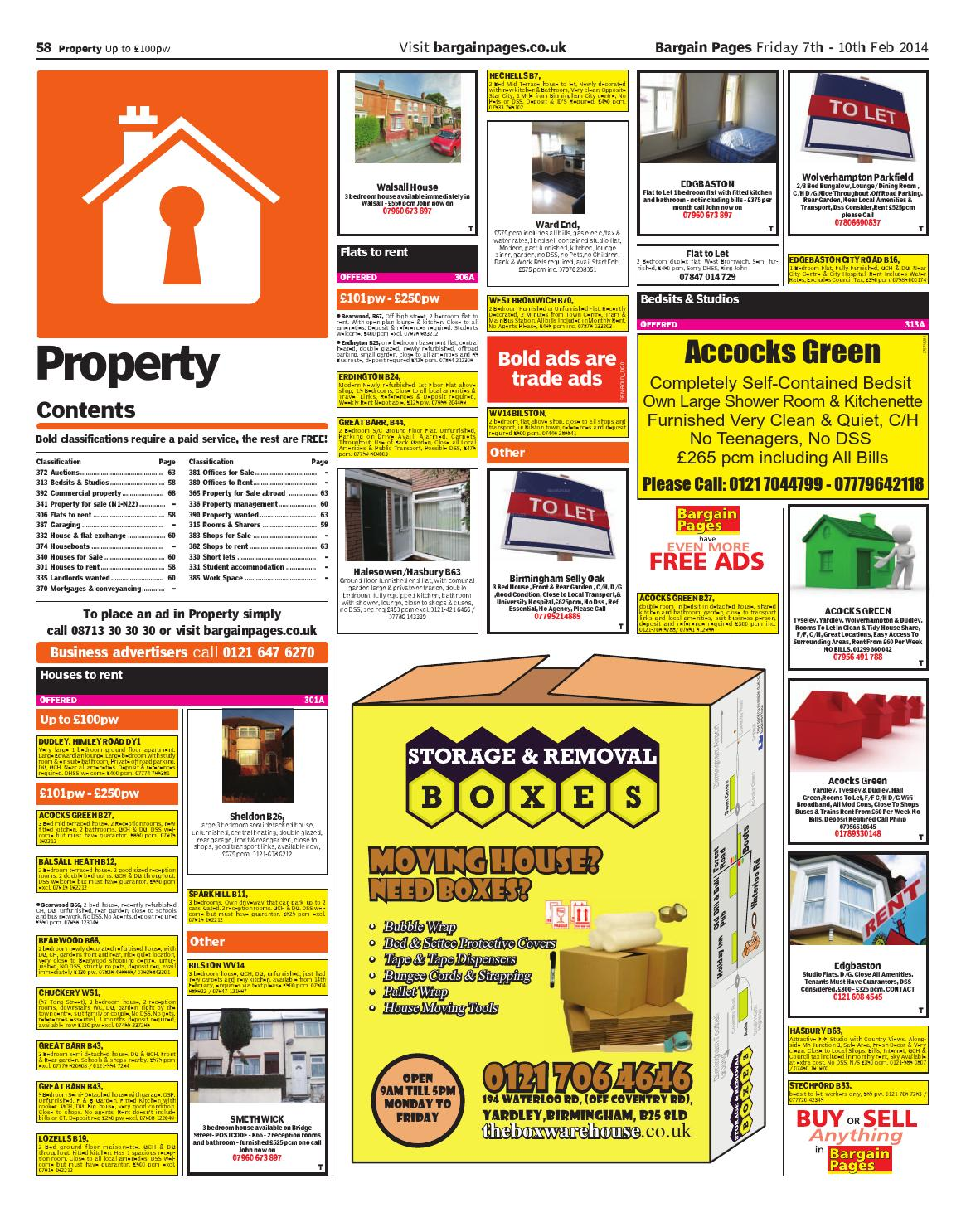 Bargain Pages Midlands, 7th February 2014 by Loot - issuu