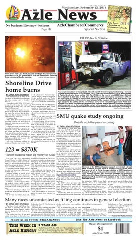 Volume 62, Number 35. Azle News