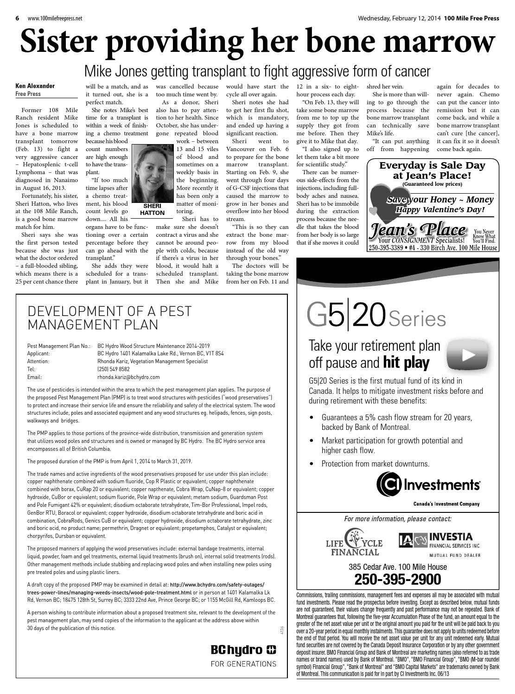 100 Mile House Free Press, February 12, 2014 by Black Press