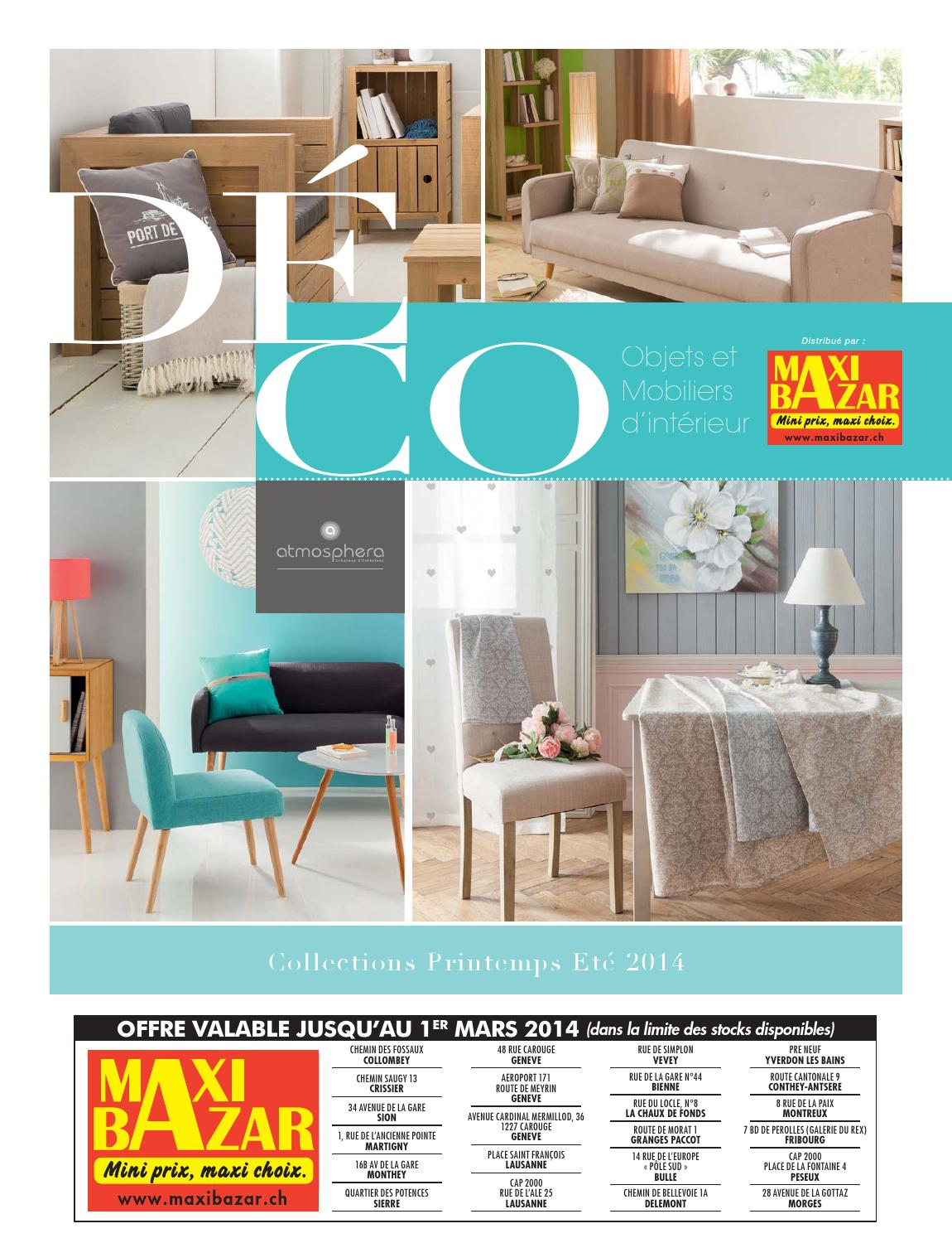 bd op3 deco atmosphera mb sui by maxibazar issuu. Black Bedroom Furniture Sets. Home Design Ideas