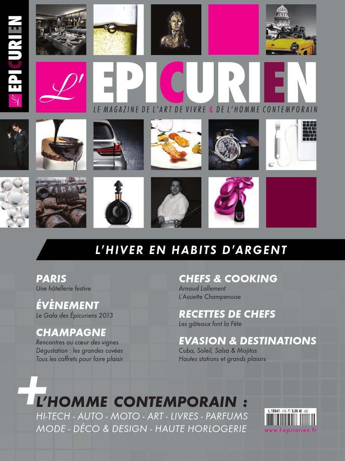 deeb1cea65f7d0 L EPICURIEN magazine 111 by Tony Barusta - issuu
