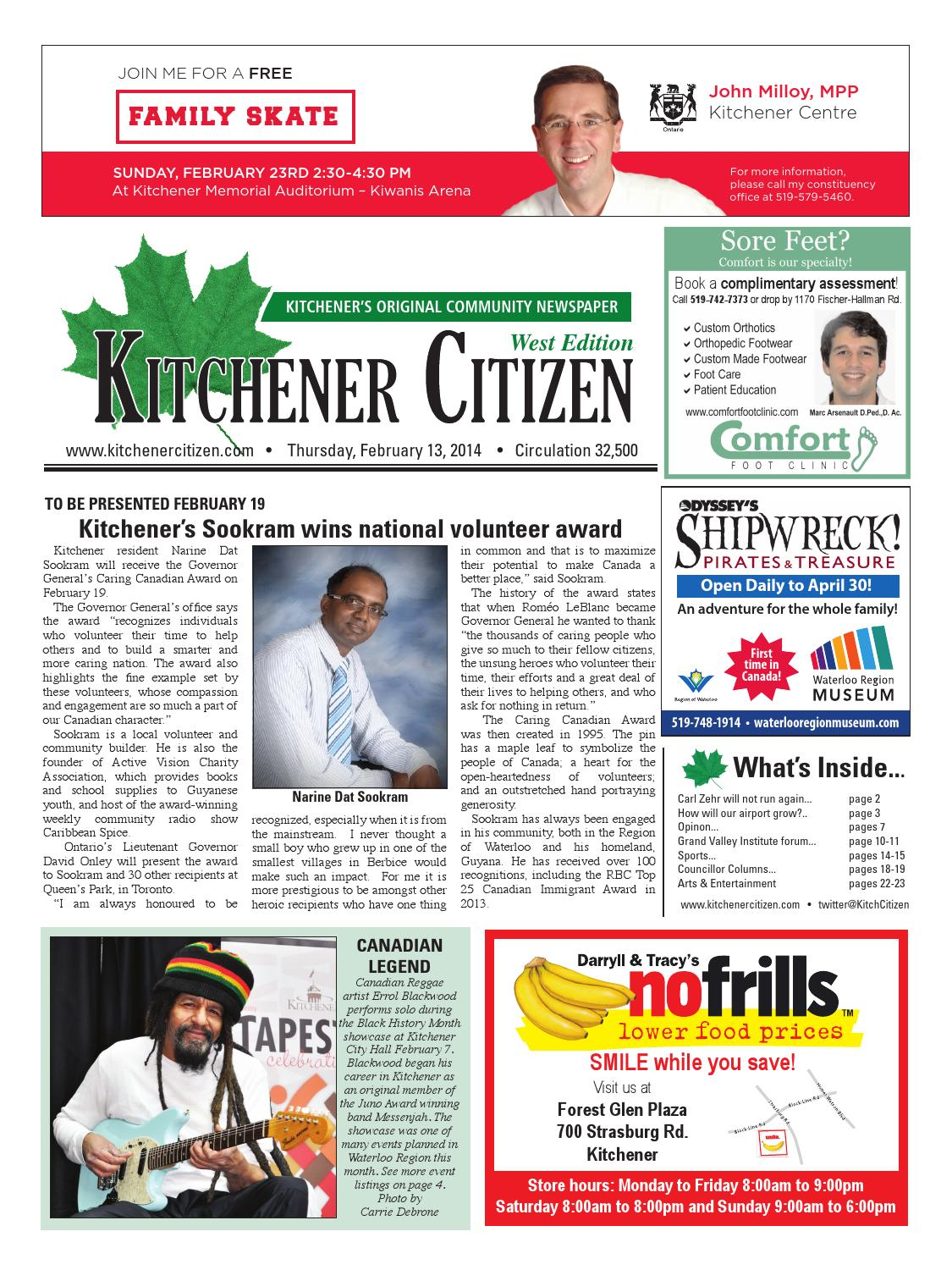 Kitchener Citizen - West Edition - February 2014 by Kitchener ...