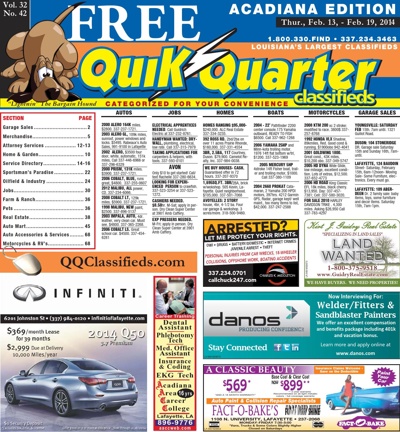 QQAcadiana 02 13 2014 by Part of the USA TODAY NETWORK issuu