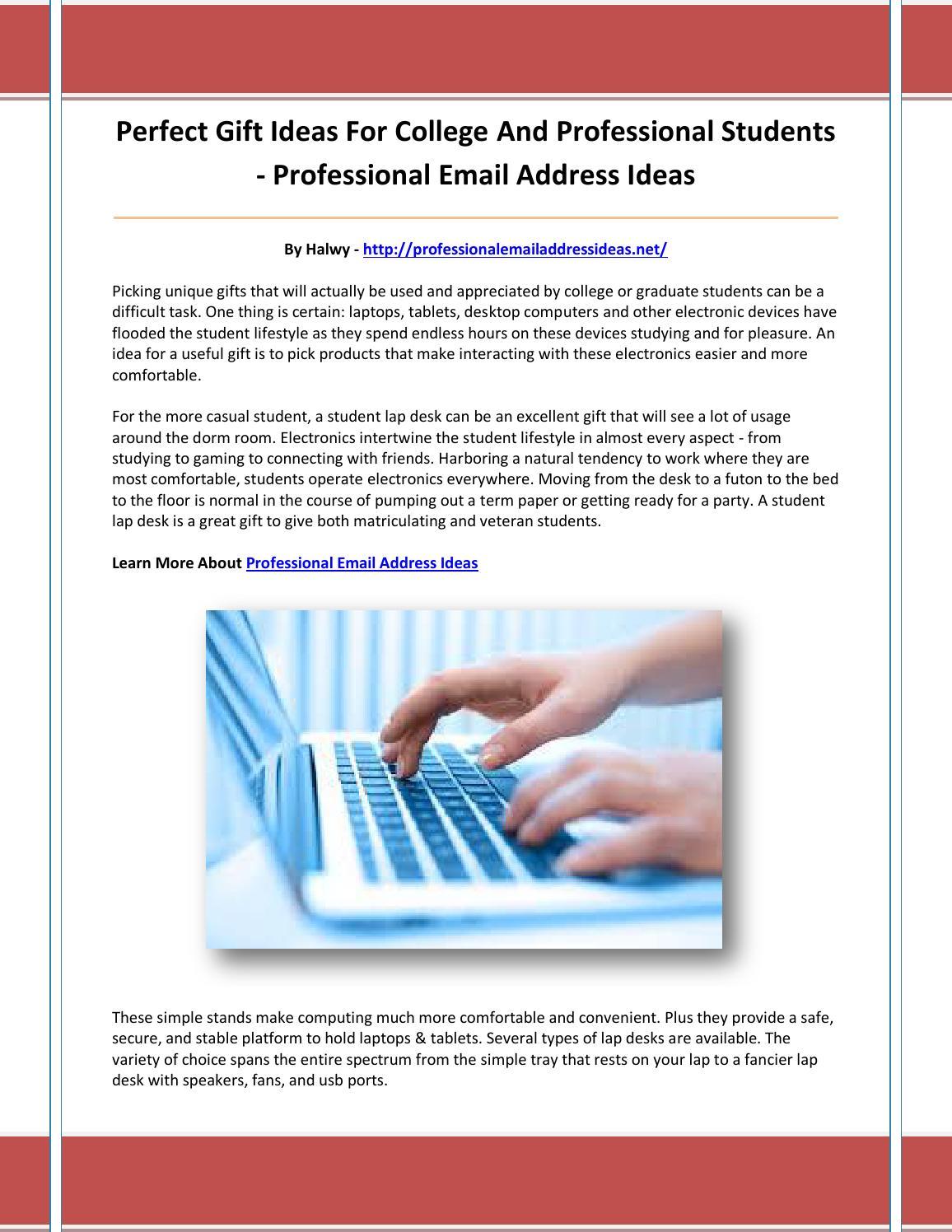 professional email address ideas by kmnbhgvtn - issuu