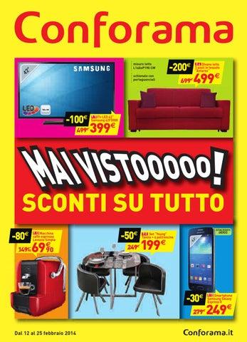 watch 4e960 18632 Conforama volantino 12 25febbraio2014 by CatalogoPromozioni ...
