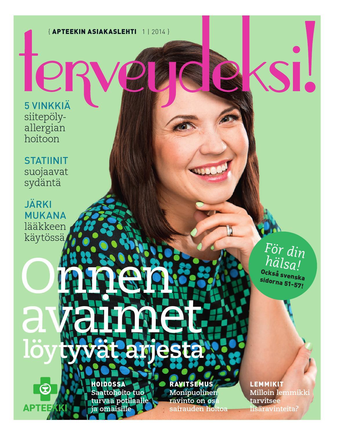 Terveydeksi! 1 2014 by Otavamedia OMA - issuu 06f3958c9e