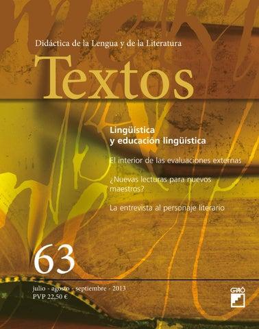 Textos. Didáctica de la Lengua y de la Literatura by Editorial Graó ... c21b974ba5115