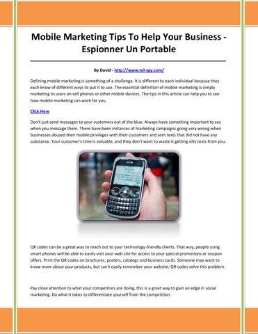 Installer un logiciel espion à distance sur smartphone