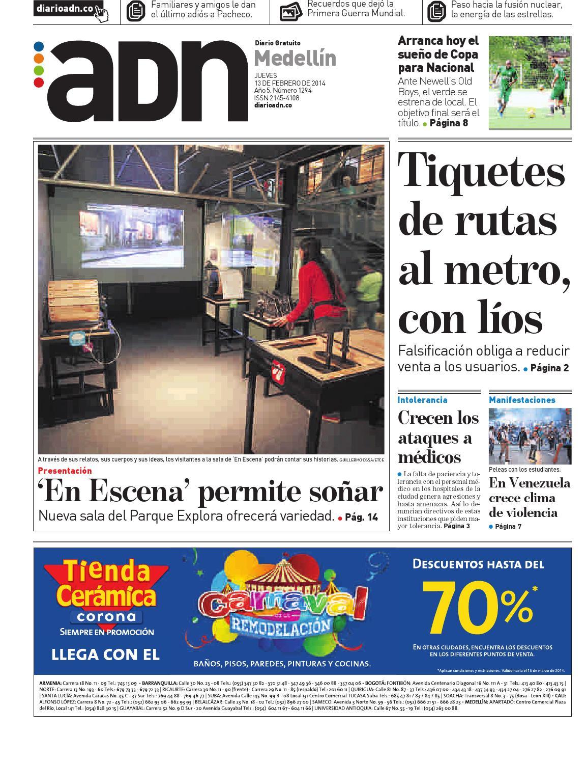 13 de febrero Medellín by Diario ADN - issuu