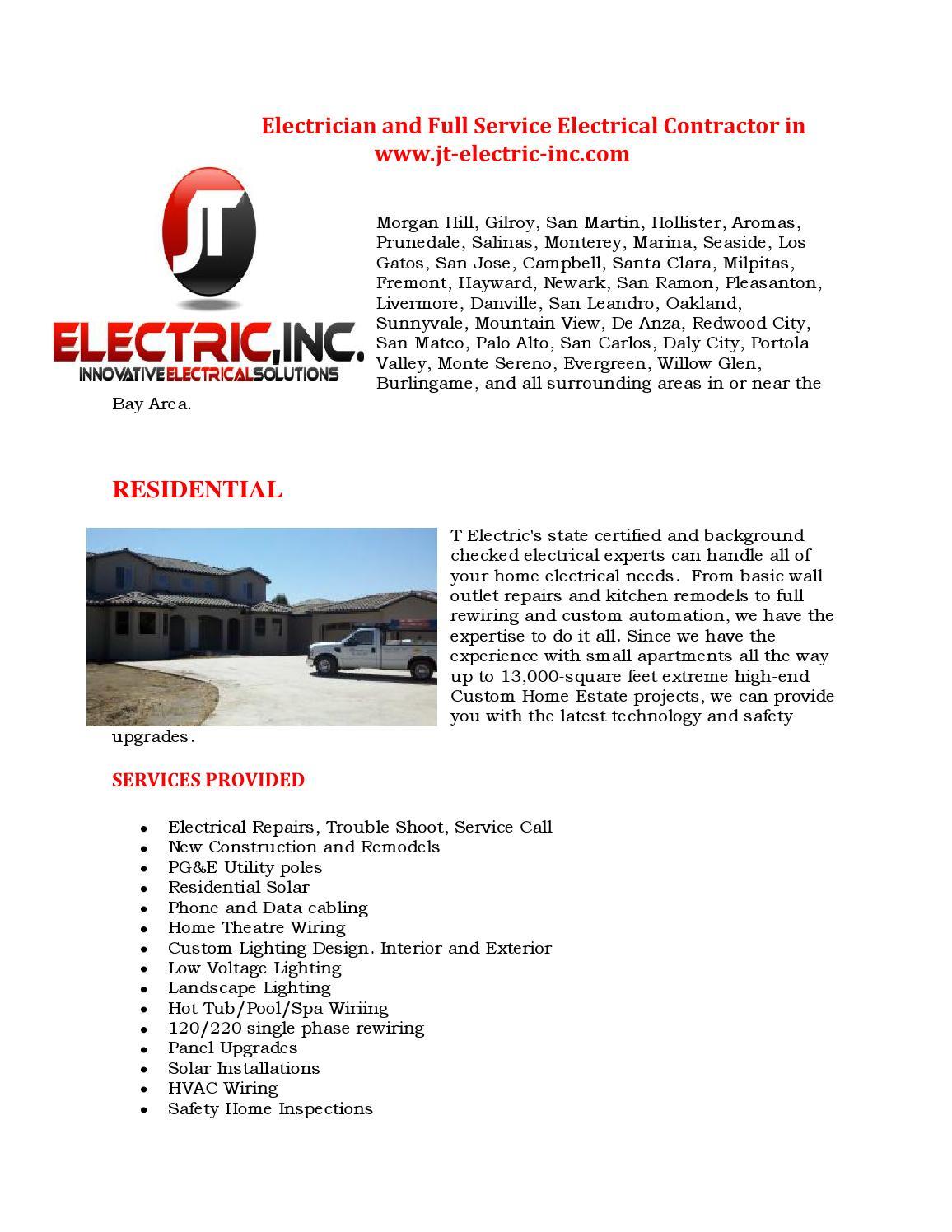 Custom Home Electrical Wiring