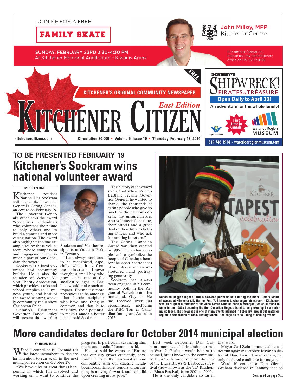 Kitchener Citizen - East Edition - February 2014 by Kitchener ...