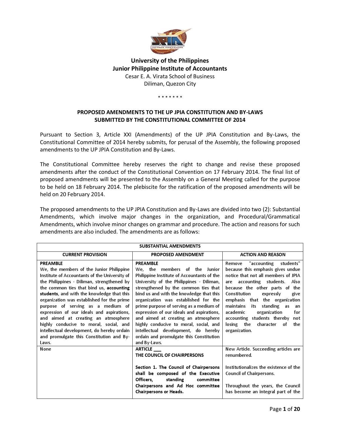 list of amendments to the upjpia constitution by jonas cruz - issuu