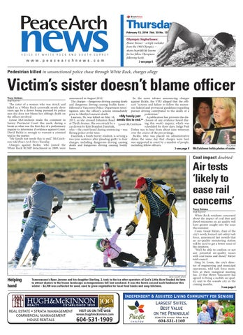 Peace arch news february 13 2014 by black press issuu page 1 fandeluxe Images
