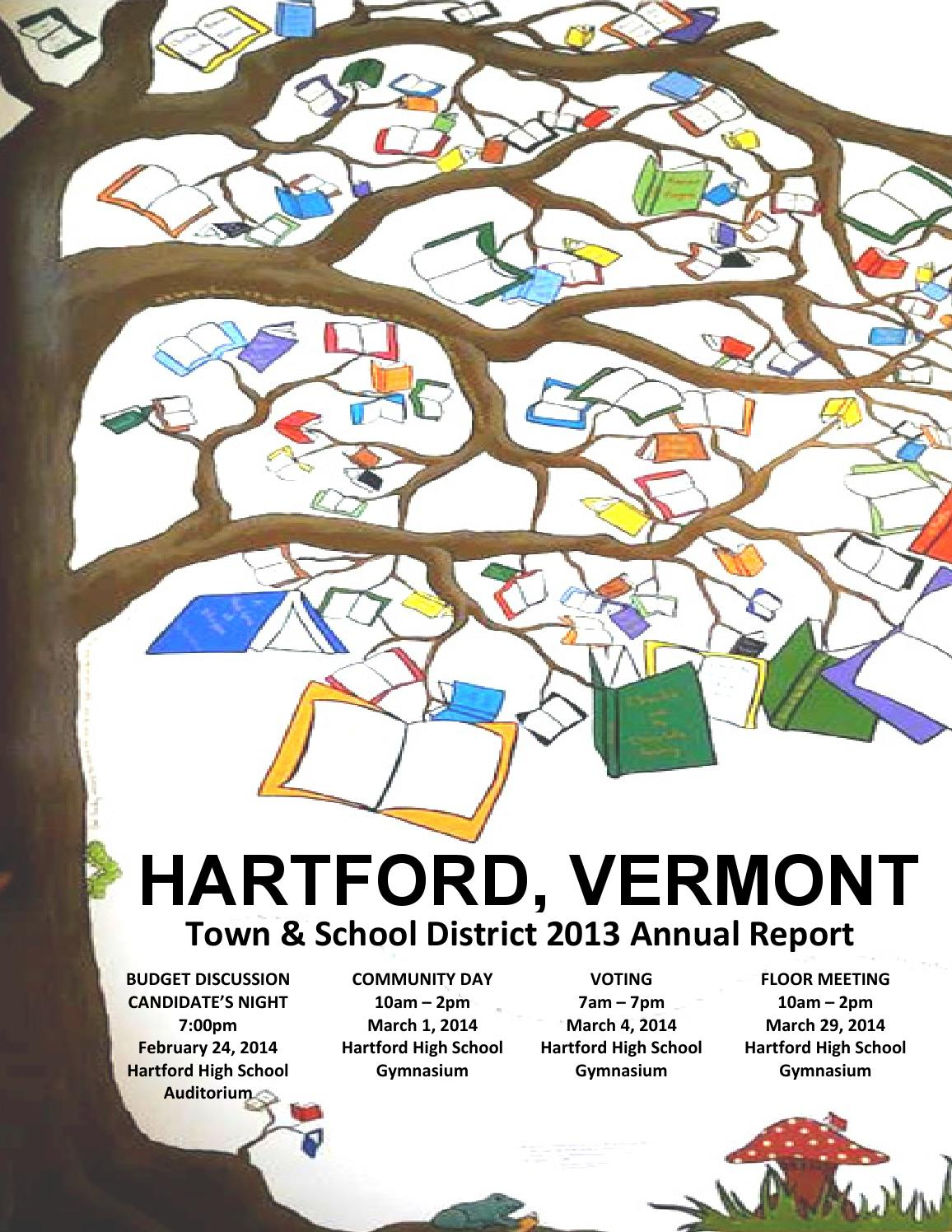 Town School Annual Report 2013 By Of Hartford Vt Issuu Purpose Electric Motor 1 3 Hp Model 10000600 Motors