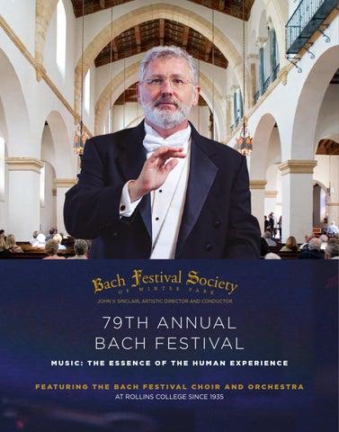 79th Annual Winter Park Bach Festival by Bach Festival Society of ... fa1acaefef47