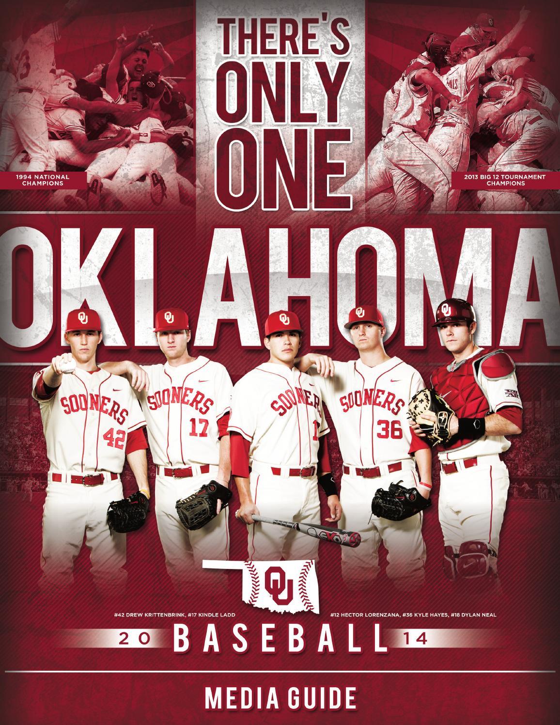 c2d47e5d61ff 2014 Oklahoma Baseball by OU Athletics - issuu