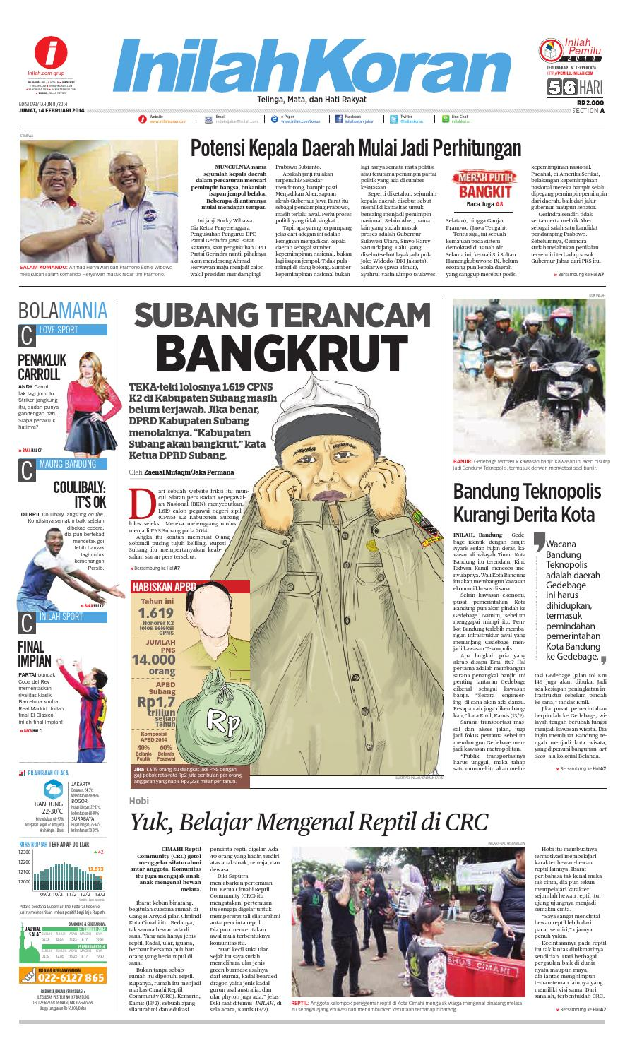 SUBANG TERANCAM BANGKRUT by inilah koran - issuu 6506f1f778
