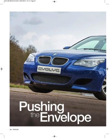 Pushing The Envelope Evolve E60 M5 By Evolve Automotive