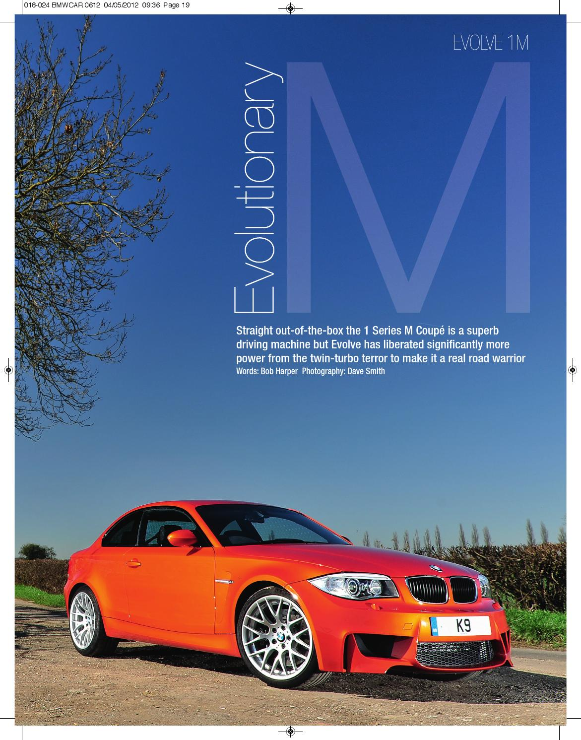 Evolutionary M Evolve 1m By Evolve Automotive Issuu