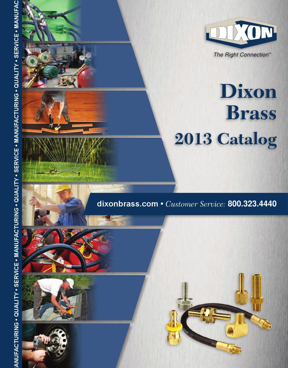 Dixon 3260202C 1//8 Male NPTF x 1//8 Fem NPTF Brass Extruded Street Tee