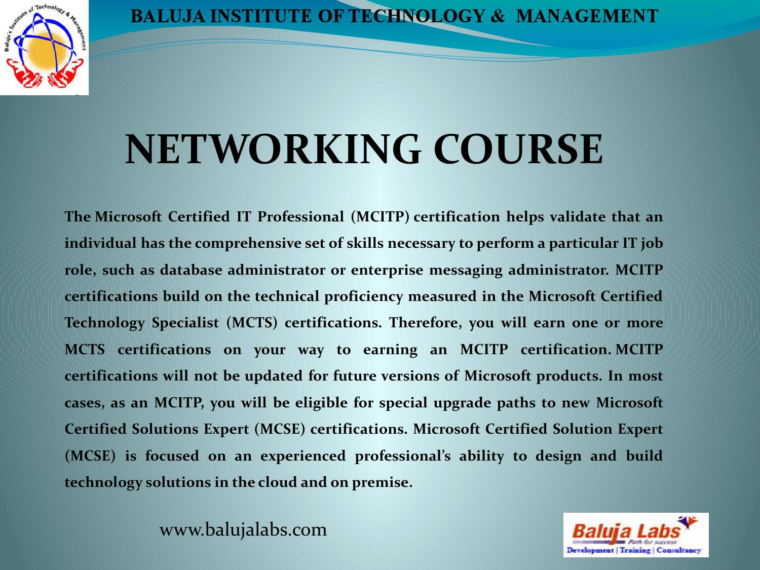 Mcitp course by baluja issuu 1betcityfo Gallery