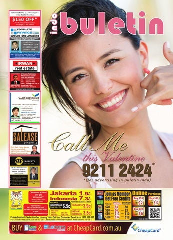 "150 OFF  For Buletin Indo Readers see page 91 for details. "" b267bf5054"