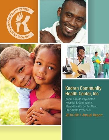 Kedren Annual Report 2010 2011 By Kedren Community Health Center