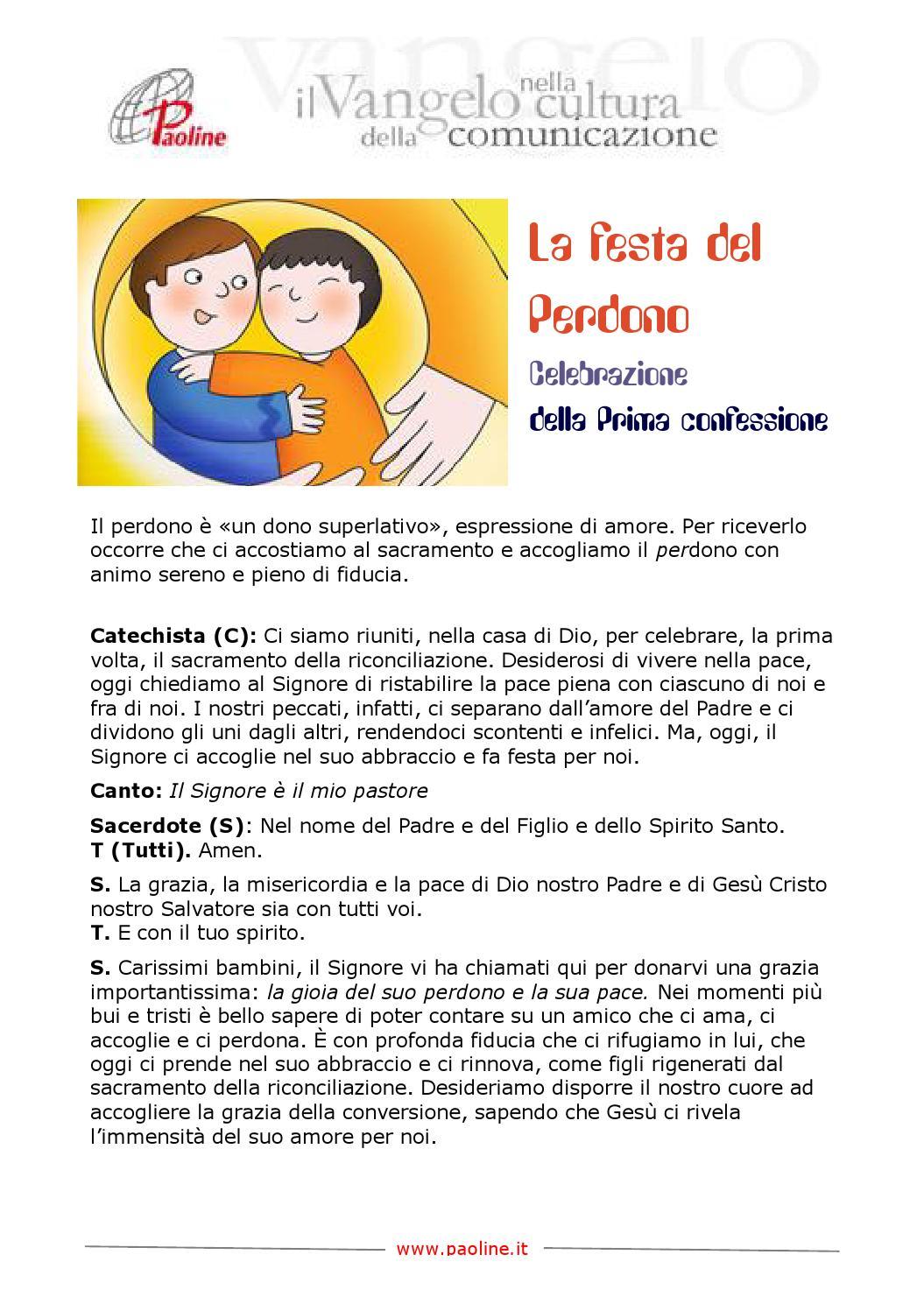 Festa del Perdono - la prima confessione - Paoline by