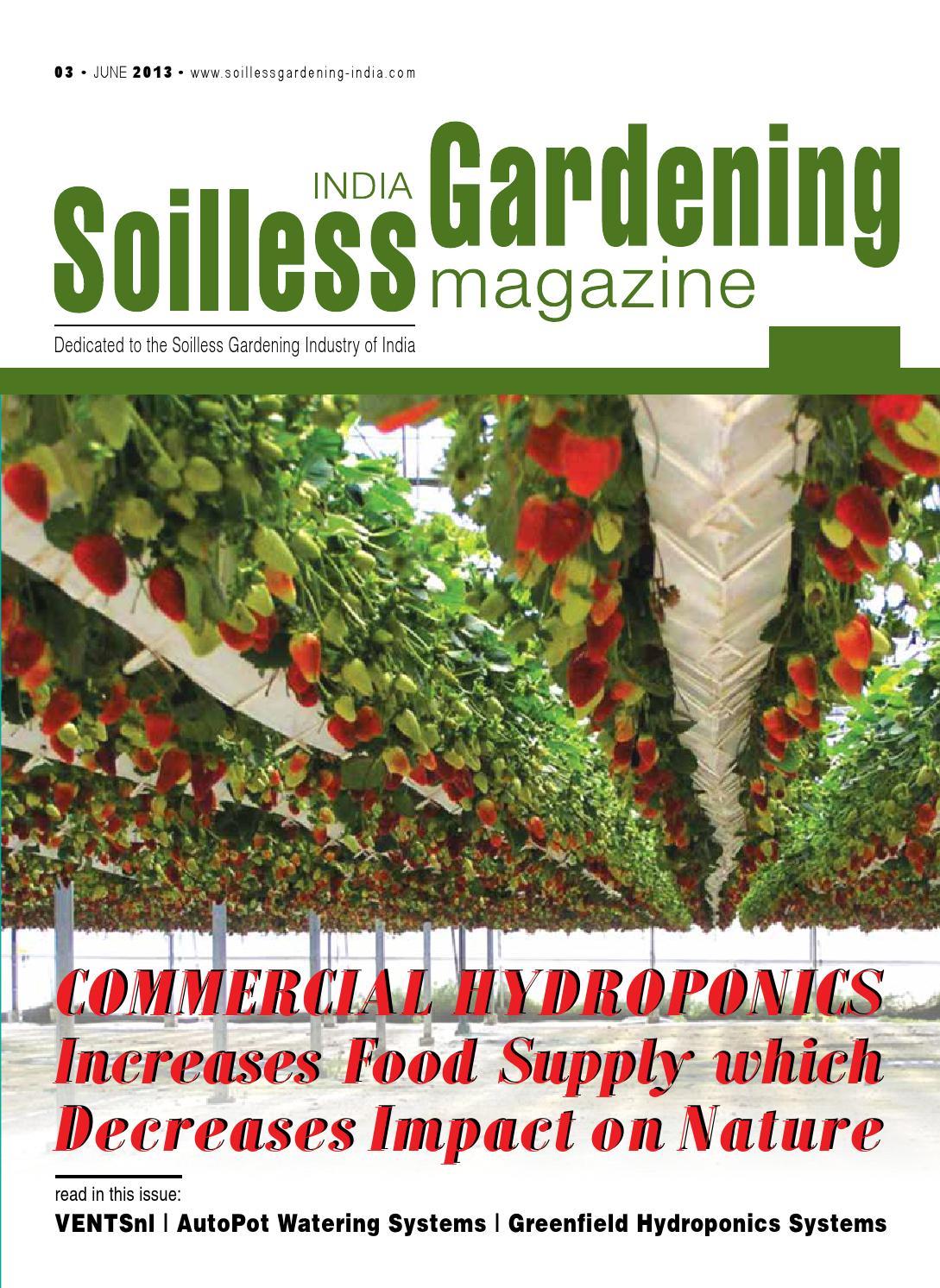 Soilless gardening 03 by aditya chaudhary issuu for Soil less farming