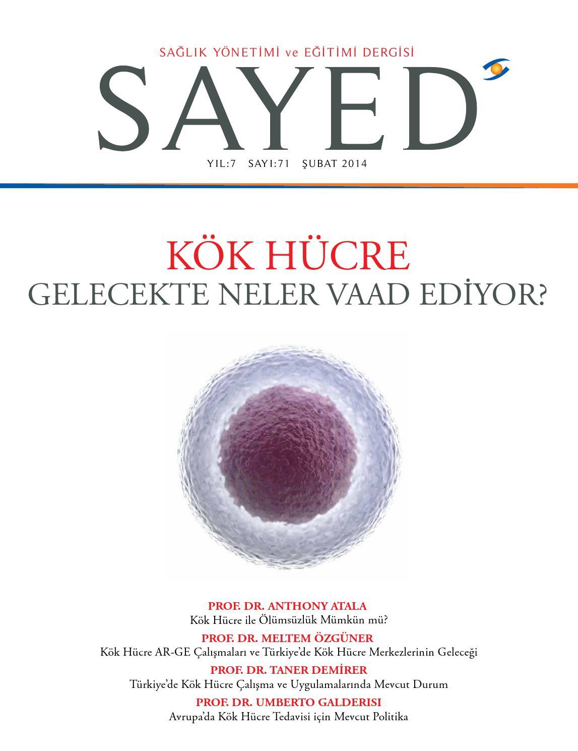 Kök hücre ile çocuk yapabilme 2013