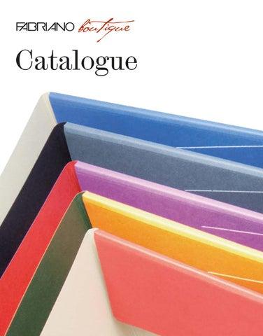 da3dca2a85 Fabriano Boutique Catalogue 2014 by Fedrigoni SpA - issuu