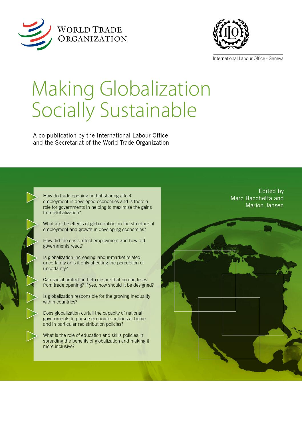 globalization the making of world society An october 2000 washington post/kaiser/harvard survey asked whether the globalization of the world economy is it means we've become a more global society.