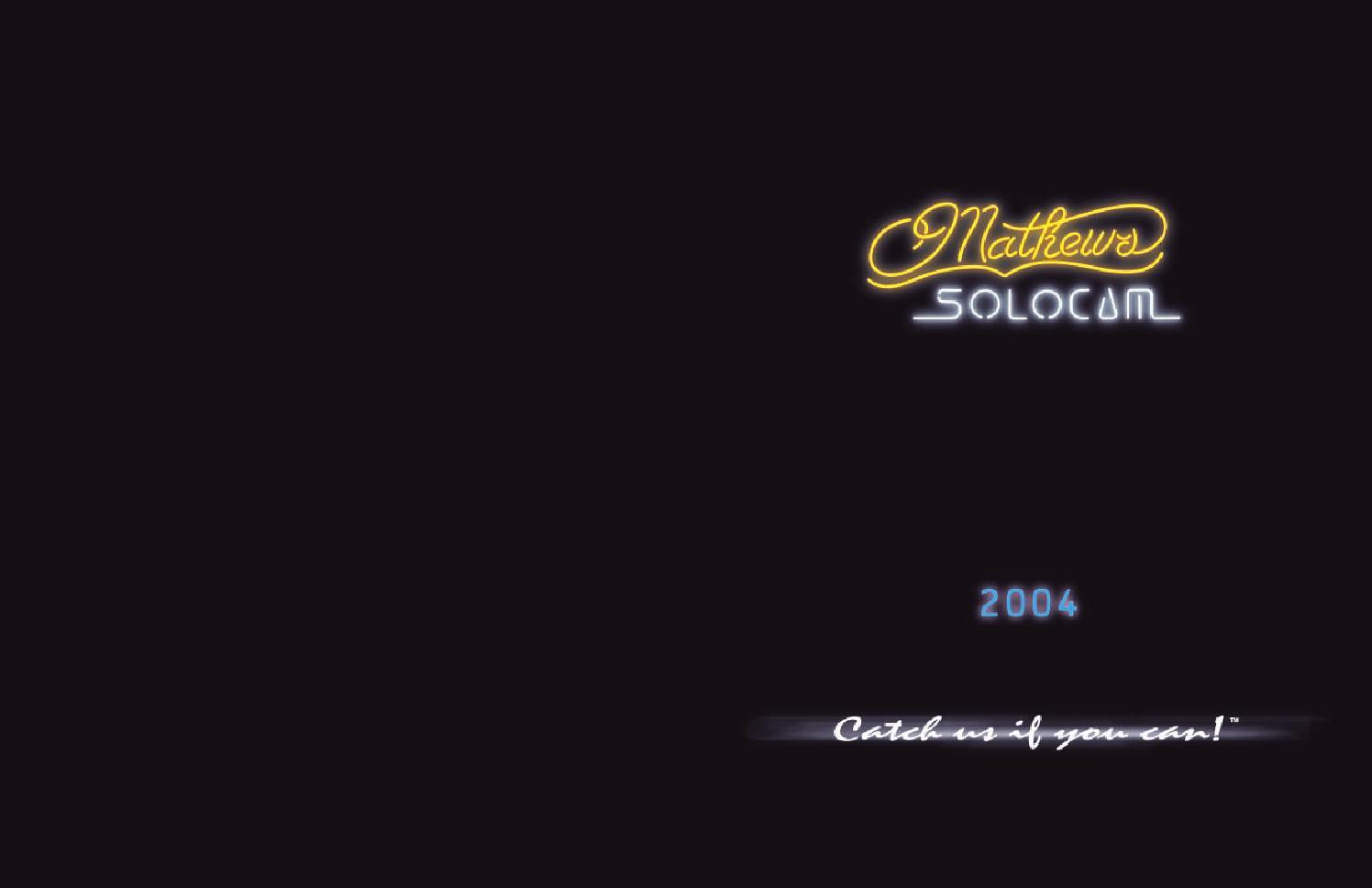 2004 Mathews Catalog by Mathews Inc - issuu