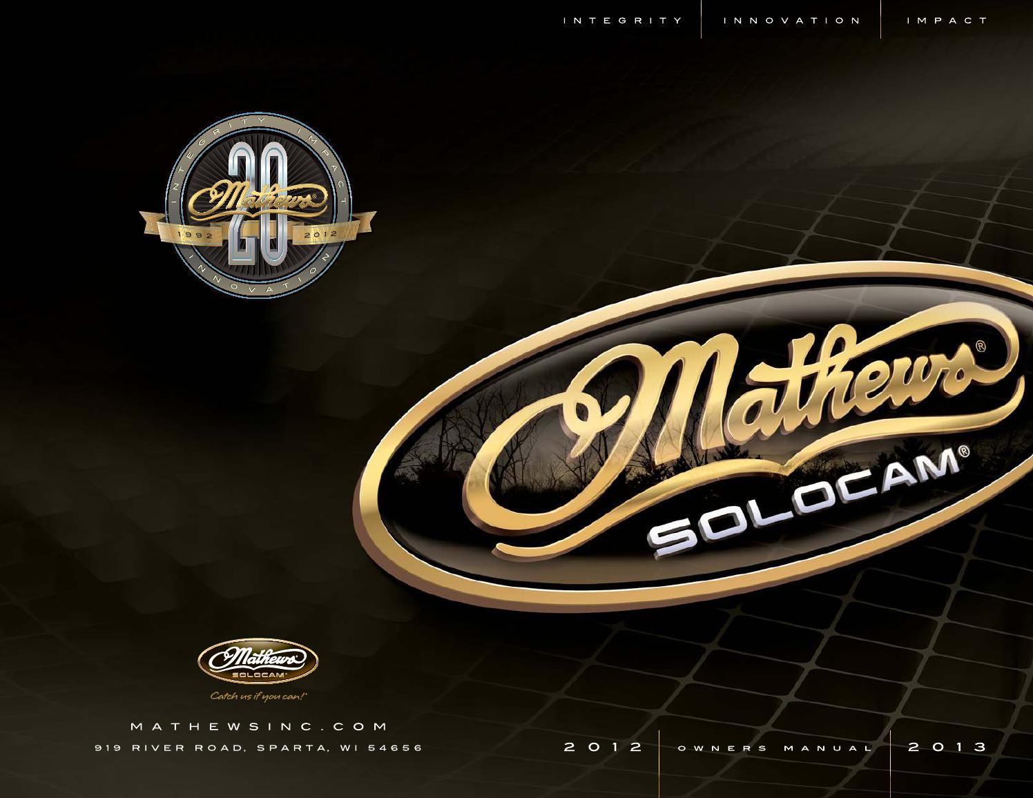 2012 2013 mathews owners manual by mathews inc issuu rh issuu com