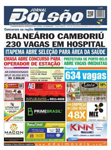 afeb886c0 Ed 551 by Bolsão Jornal - issuu