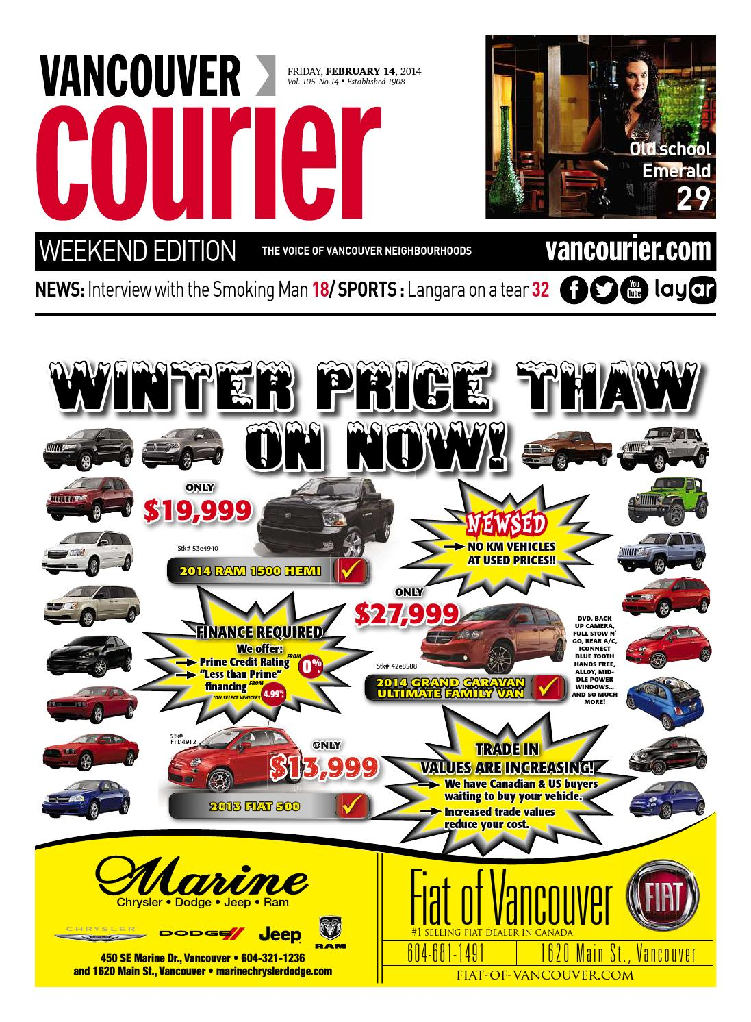 e64e44dbeb9 Vancouver Courier February 14 2014 by Vancouver Courier - issuu