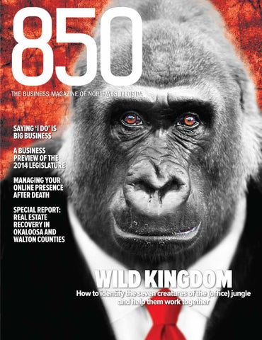 2014 February–March Issue of 850 Business Magazine by Rowland