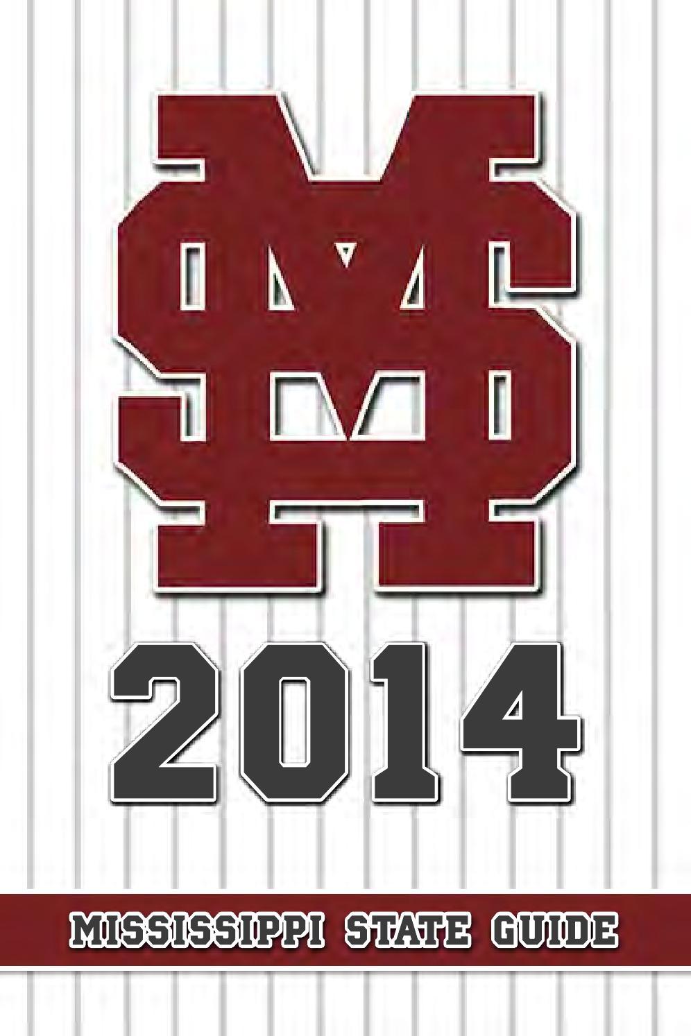 2014 Mississippi State Baseball Media Guide by Mississippi