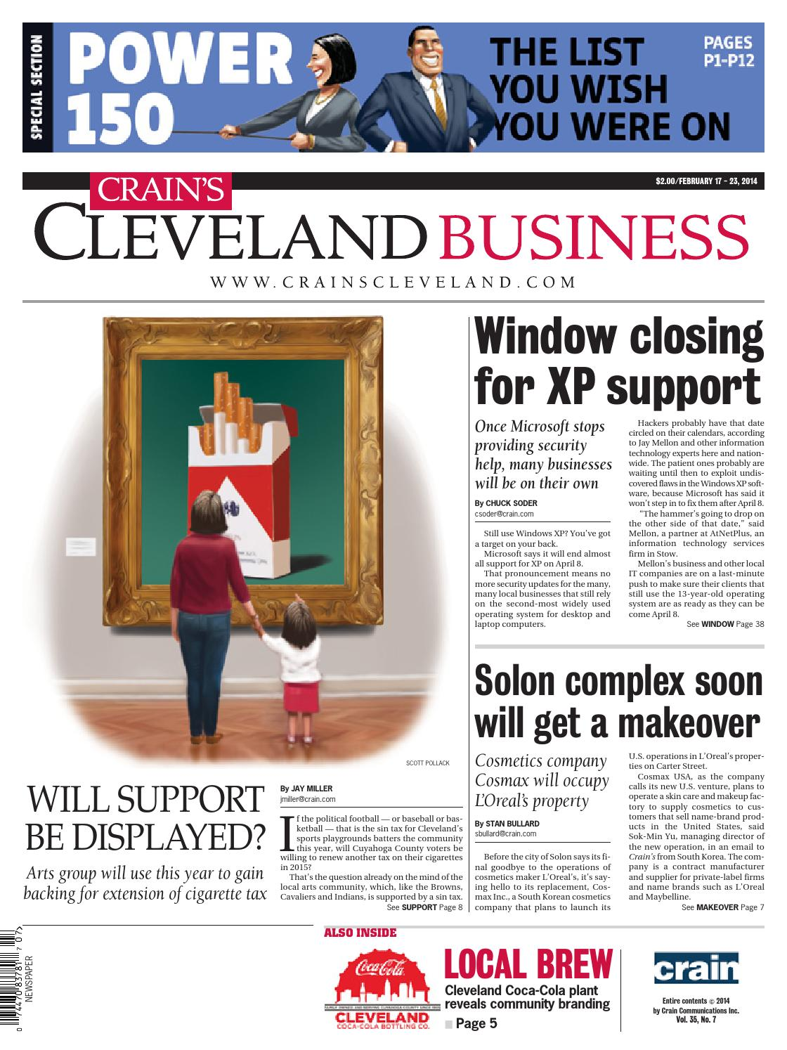 Crain's Cleveland Business by Crain's Cleveland Business - issuu