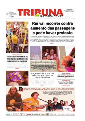 8dbfc70e98d Edição número 1973 - 15 de fevereiro de 2014 by Tribuna Hoje - issuu