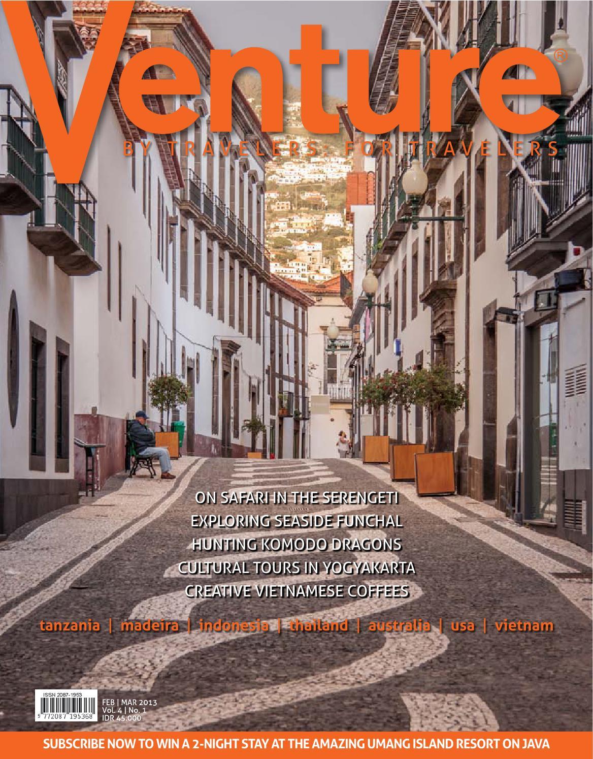 Venture Travel Magazine February 2013 Back Issue By Bold Prints Issuu