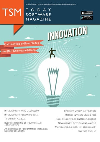 Issue 20 - Today Software Magazine (english) by Today