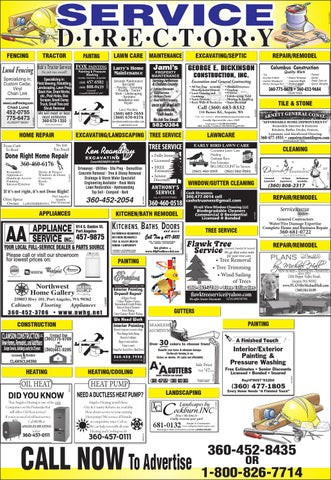 Service Directory By Peninsula Daily News Amp Sequim Gazette