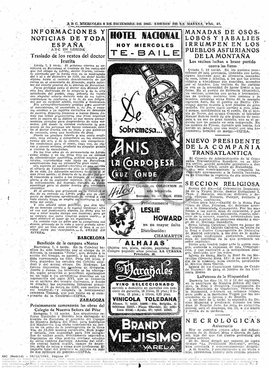 Curiosidades 6noticias abc y revista 1968 by Juan Manuel Cortés ...
