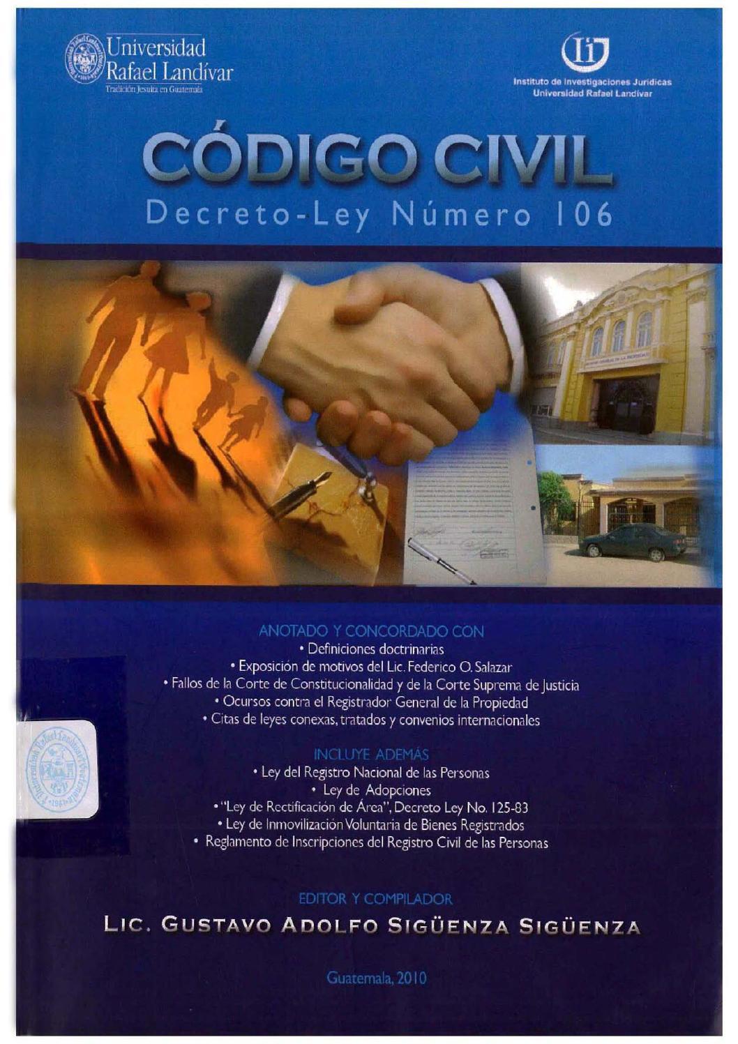 Codigo civil pdfd by Recursos Humanos - issuu