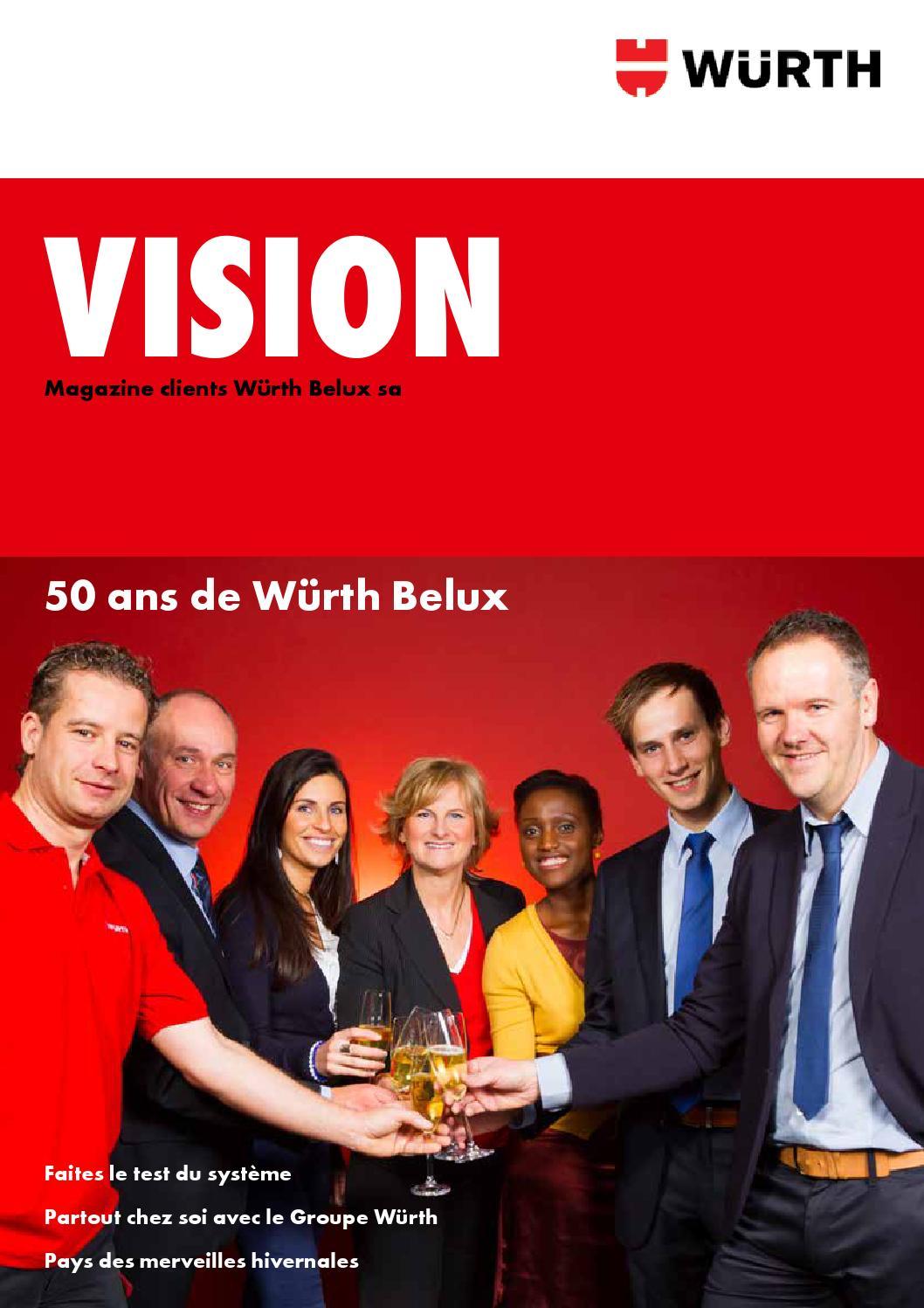 Vision Febr 2014 Fr By Wurth Belux Nv Issuu