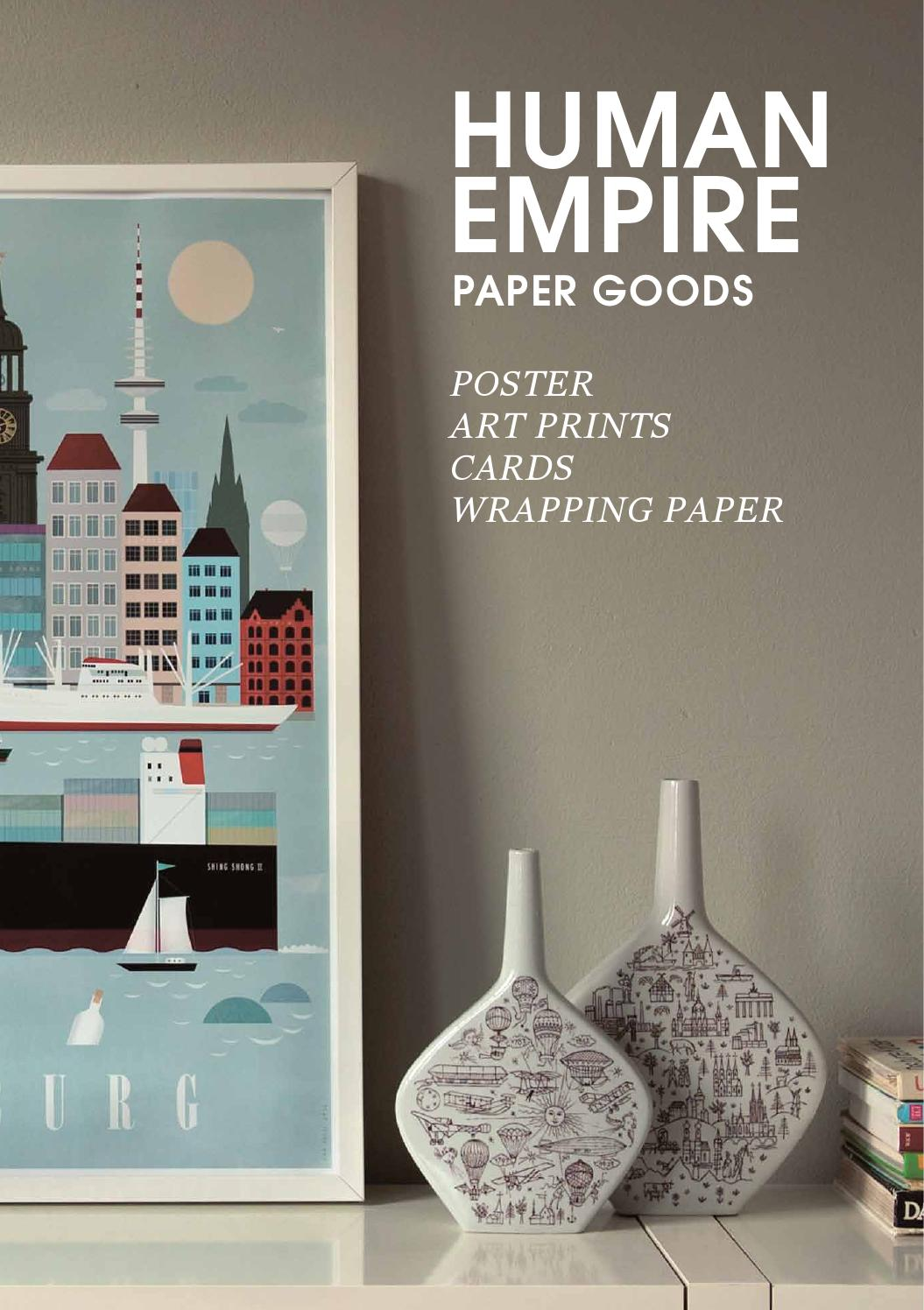 human empire paper goods 2014 by human empire issuu. Black Bedroom Furniture Sets. Home Design Ideas