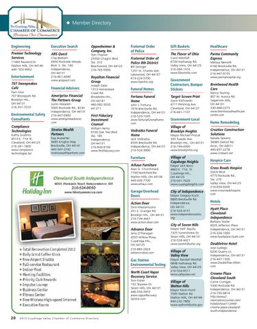 Cuyahoga Valley 2013 By Image Builders Marketing   Issuu