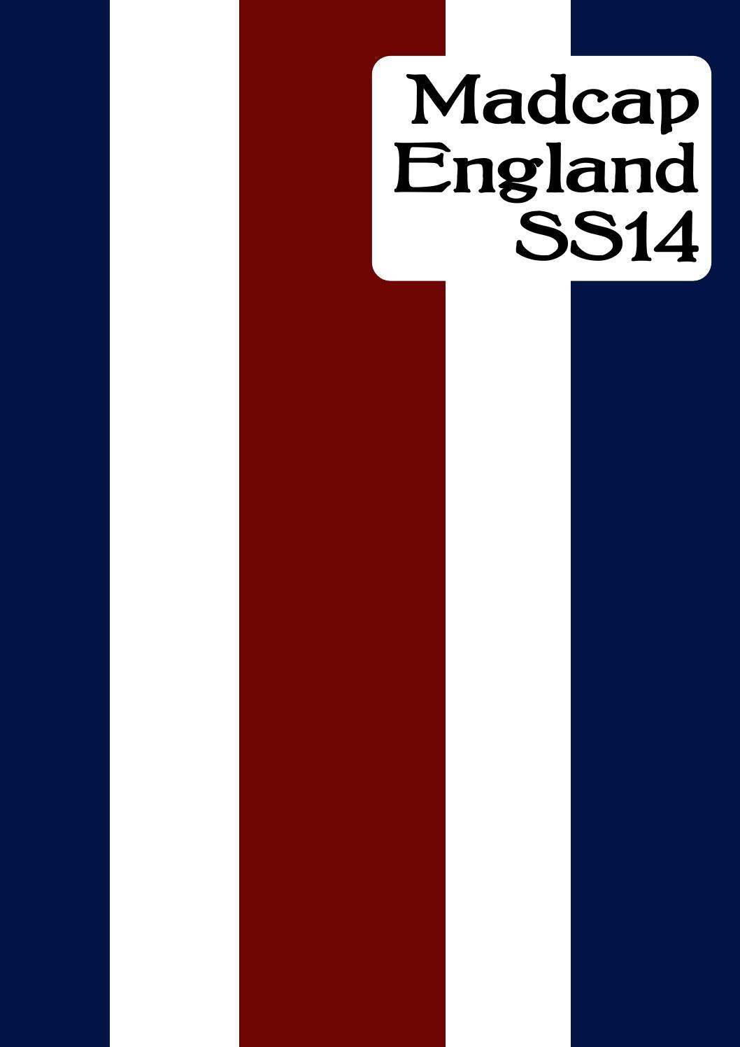 0b3fa39f Madcap England Catalogue ss14 by Atom Retro - issuu