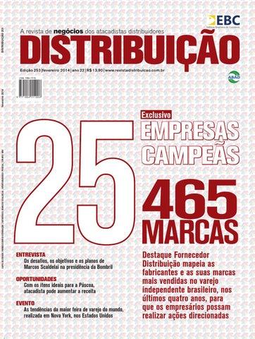 Revista Distribuição 253 by Editora Brasileira Comércio - issuu d1c6e67bcfa